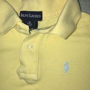 Ralph Lauren baby boy short sleeve polo 6-12 M